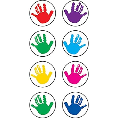 Teacher Created Resources Helping Hands Mini Stickers, Multi Color (1817): Office Products