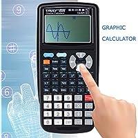 CAVEEN TG204 Graphing Calculator 12 - Digits Portable Graphic Scientific Programmable Calculator , Black