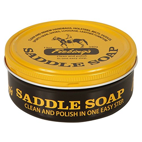 Saddle Yellow Soap Cleans & Lubricate Leather 12oz. ()