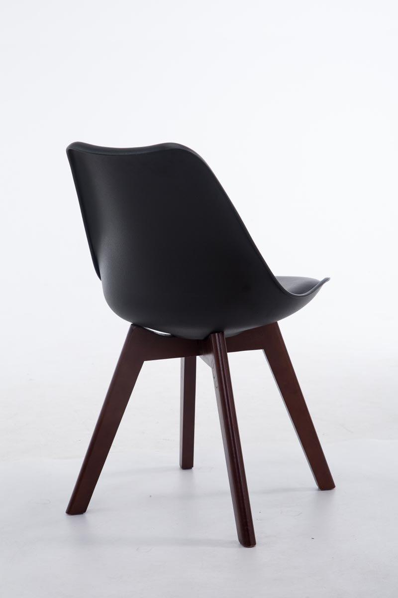 CLP Design Retro-Stuhl BORNEO V2 mit Kunstlederbezug und ...