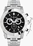 Montegrappa NeroUno Lifestyle Steel Black Chronograph Watch