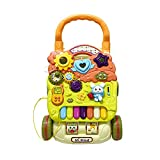 Baby Three-in-one Activity Walker Baby Walker Trolley Multi-Function Learning Walking Baby 6-18 Months Children's Toys (Color : Yellow, Size : Free Size)
