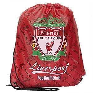 Football Club Red Drawstring Backpack [D07]