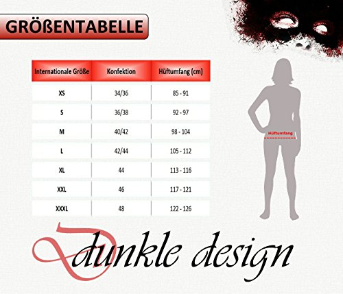 Winterkleid Sweat Retro dunkle design Langarm BvqW55O