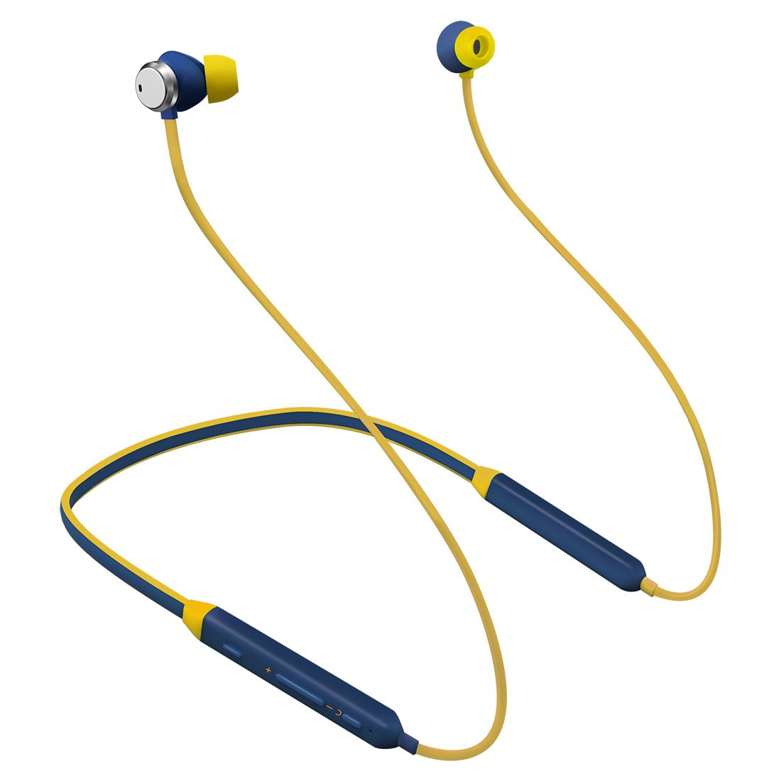 d41cdd20c22 Bluedio TN (Turbine) Active Noise Cancelling Earbuds Neckband Earphones, Bluetooth  4.2 Wireless Sports ...
