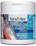 Purest Fish Oil 1100mg- UK's Strongest Omega 3s With EPA 360mg And DHA 240mg - UK- Made - 180 Capsules