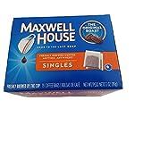 Maxwell House Original Blend Ground Coffee, Medium Roast, 19 Single Serve Coffee Bags (Pack of 4)