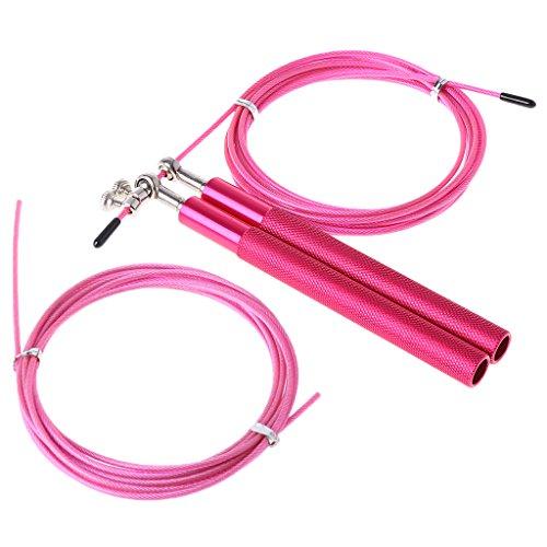 Manyo Cuerda de saltar profesional para entrenamiento de fitness, rosa: Amazon.es: Deportes y aire libre