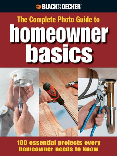 Image result for the complete photo guide to homeowner basics