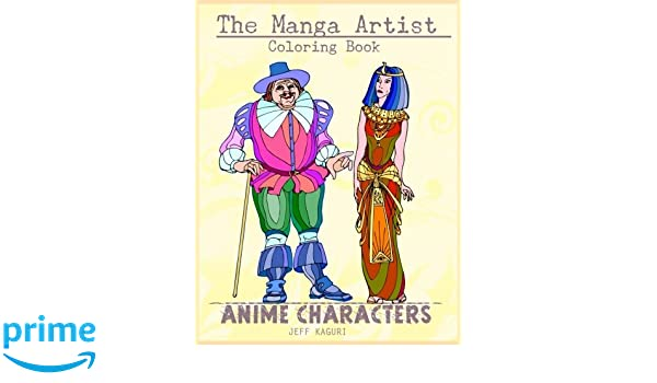 Amazon The Manga Artist Coloring Book Anime Rhamazon: Anime Style Coloring Pages At Baymontmadison.com