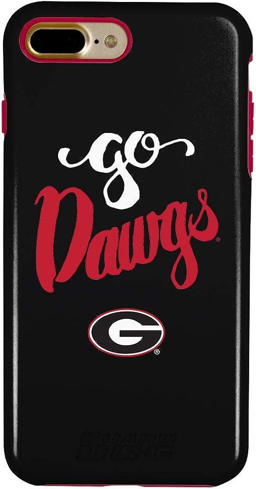 Guard Dog Georgia Bulldogs Go Dawgs Hybrid Case for iPhone 6//6s Black
