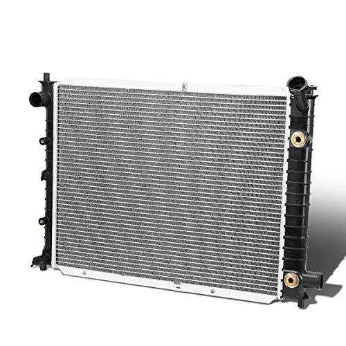 (1273 Factory Style Aluminum Radiator for 91-02 Ford Escort/Mercury Tracer AT/MT)
