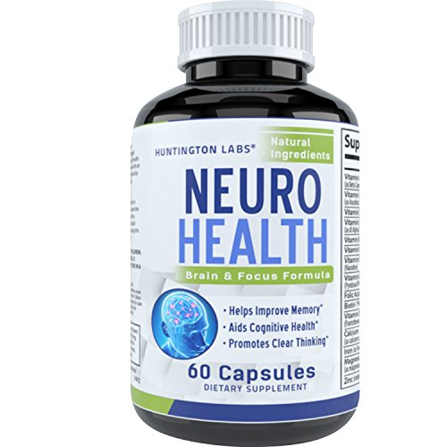 Mind Enhancing Supplement – Improve Memory + Boost Brain Power + Enhance Mental Clarity – Pills with Best Top Natural Vitamins for Better Cognitive Function + Concentration + Focus