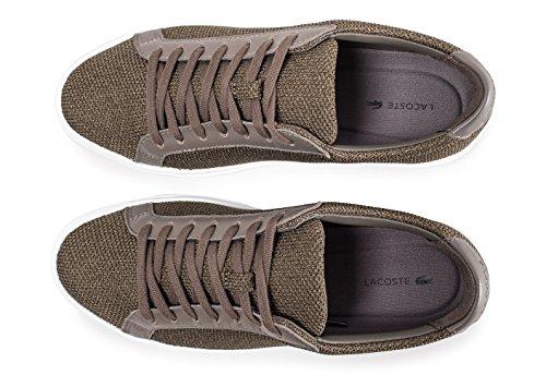 Vert Lacoste L 12 Homme Chaussures 12 Kaki YqYU7vx
