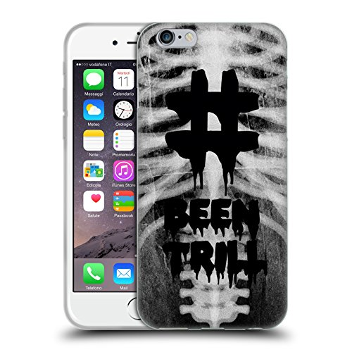 Official Been Trill Rib Cage 3D Scans Soft Gel Case for Apple iPhone 6 / 6s
