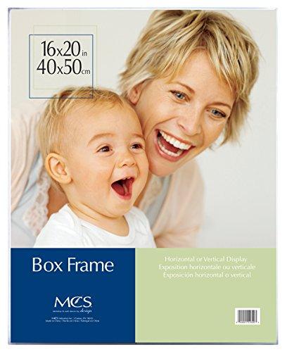 MCS 16x20 Inch Clear Box Frame (11620) (Acrylic Box Frame)