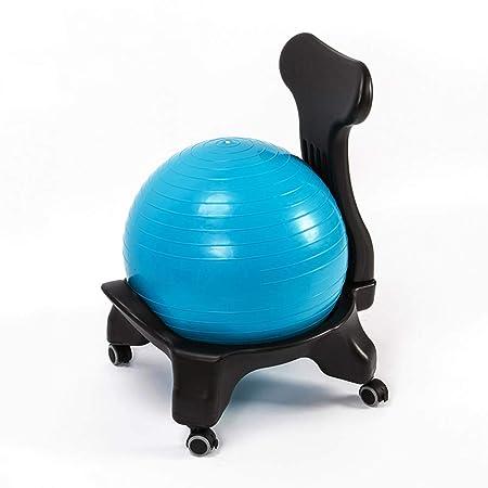 Wly&home Balance Ball Chair, Silla de Escritorio Stability ...