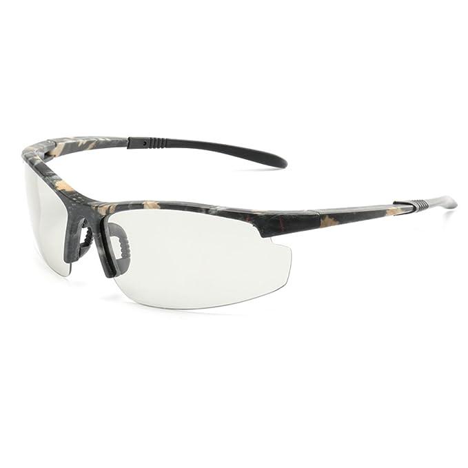 Gafas de sol Fotocromáticas Media montura Unisex HD Polarizado Deportes Ciclismo Gafas de Long Keeper (