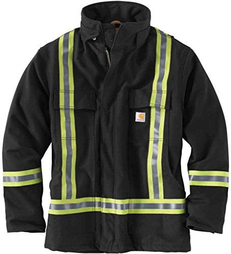Carhartt Mens Visibility Striped Traditional