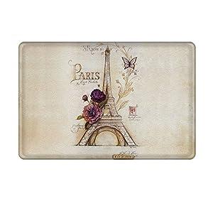 Amazon Com Uphome Vintage Paris Themed Light Brown Eiffel