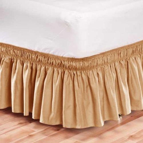 Buy tan bedskirt twin
