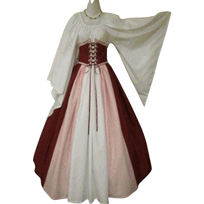 Amazon.com: Abaowedding - Disfraz de renacentista para mujer ...
