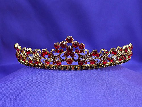 Antique Tiara Gold Set