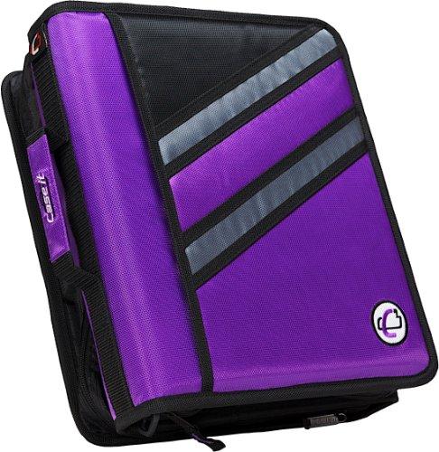 case-it-z-binder-two-in-one-15-inch-d-ring-zipper-binders-purple-z-176-pur