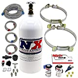 Nitrous Express ML2000 Mainline EFI Single Nozzle Nitrous System with 10 lb Nitrous Bottle