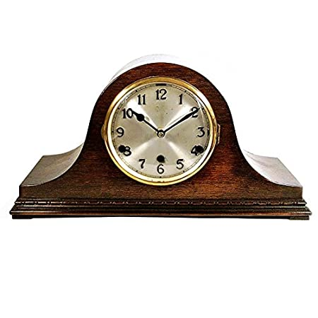 White napoleon mantel clock