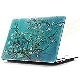 DHZ MacBook Pro 13 Retina Case - Plum Blossom Ultra Slim Plastic Hard Cover For Apple MacBook Pro 13.3