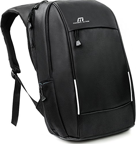 Laptop Backpack, Travel Business Everyday Backpack for men women High School College – Water Resistant Durable Nylon Computer Bag with USB Charging Port for 15.6 inch Laptop Notebook – Daypack Black (Bag Computer 100% Pvc)