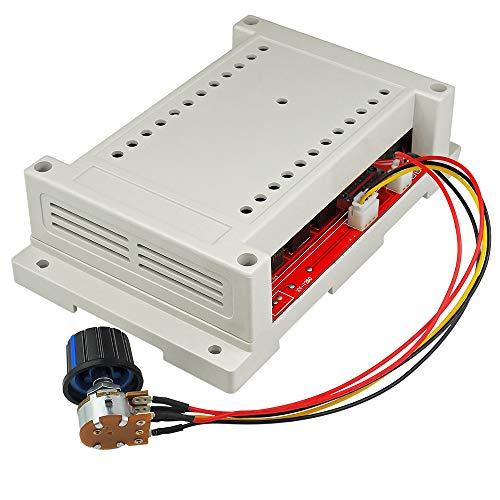 10v 50v Heater - uniquegoods DC 10-50V 60A Motor Speed Controller PWM HHO RC Controller 12V 24V 36V 48V 3000W DC Motor Governor