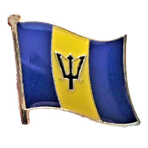 - Barbados Flag Lapel Pin (0.75