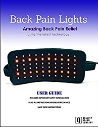 QBC Branded Infrared Back Pain Lights LED Therapy Wrap and QBC Infrared Light Therapy 101 eBook
