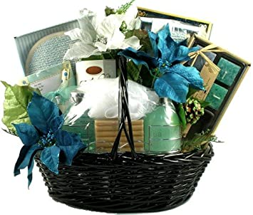 the spa day at home premium spa gift basket for women christmas gift idea