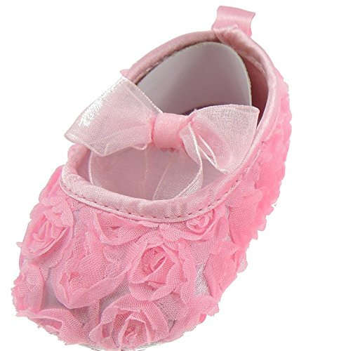 Hats By Cressida , Baby Mädchen Krabbelschuhe & Puschen 0-6 Mo., Rosa - Pink - Größe: 0-6 Mo.