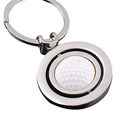 Amazon.com: Junshi11 Llavero giratorio de aleación de balón ...