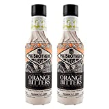 Fee Brothers Gin Barrel-Aged Orange Bitters - 5 oz - 2 Pack