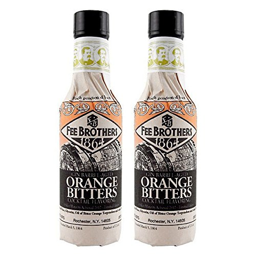Fee Brothers Gin Barrel-Aged Orange Bitters - 5 oz - 2 Pack by Fee Brothers