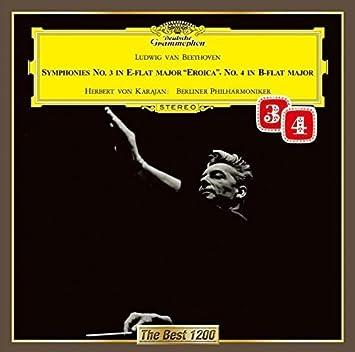 ベートーヴェン:交響曲第4番&第3番(英雄)