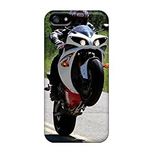GoldenArea Snap On Hard Case Cover Wheelie Protector For Iphone 5/5s
