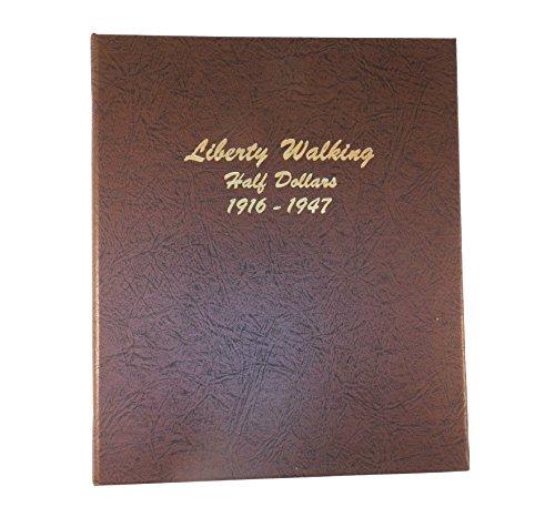 Dansco US Liberty Walking Half Dollar Coin Album 1916 - 1947 #7160