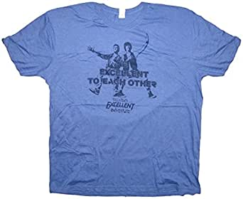 """October 2015 """"Time Travel"""" Lootcrate Bill and Ted's Excellent Adventure T-Shirt XXX-L (XXX-L)"""