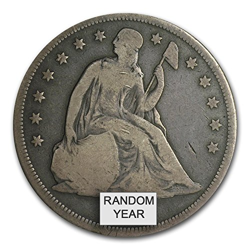 1840-1873 Liberty Seated Dollar VG Silver Very Good