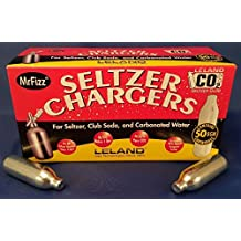 Leland Soda Chargers Seltzer Chargers CO2 (200 Pack)