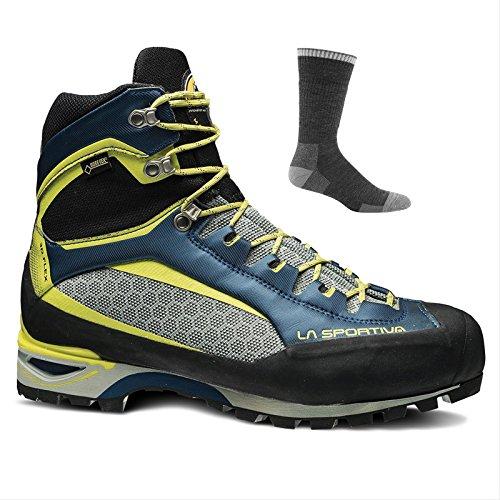 La Sportiva Trango Tower GTX Hiking Shoe, Ocean/Sulphur, 47.5