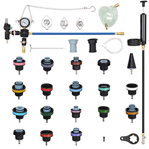 Docooler 28pcs Universal Radiator Pressure Tester Vacuum Type Cooling System Test Detector Kits by Docooler1 (Image #8)