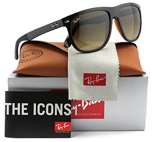 Ray-Ban RB4147 Sunglasses Black w/Brown Gradient (6095/85) RB 4147 609585 60mm - Rb Authentic