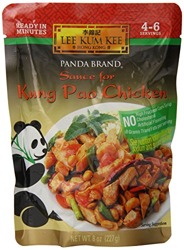 Lee Kum Kee Chicken Sauce - Panda Sauce For Kung Pao Chicken, 8-Ounce (Pack of 6)
